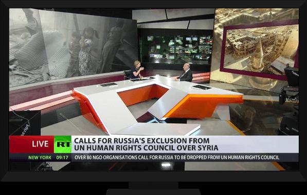 Syria on TV