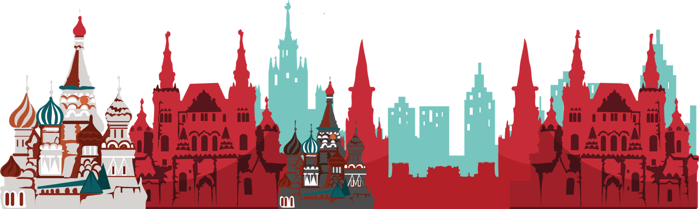 An illustration of Moscow