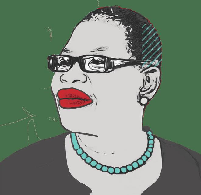 An illustration of Oby Ezekwesili