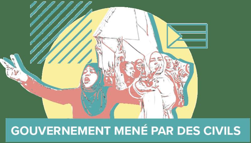 Gouvernement mené par des civils