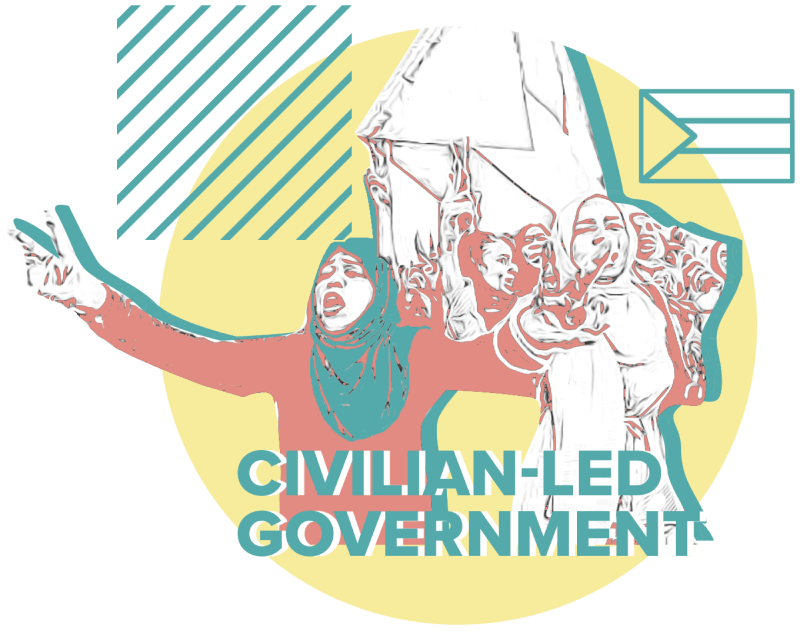 Civilian-led government