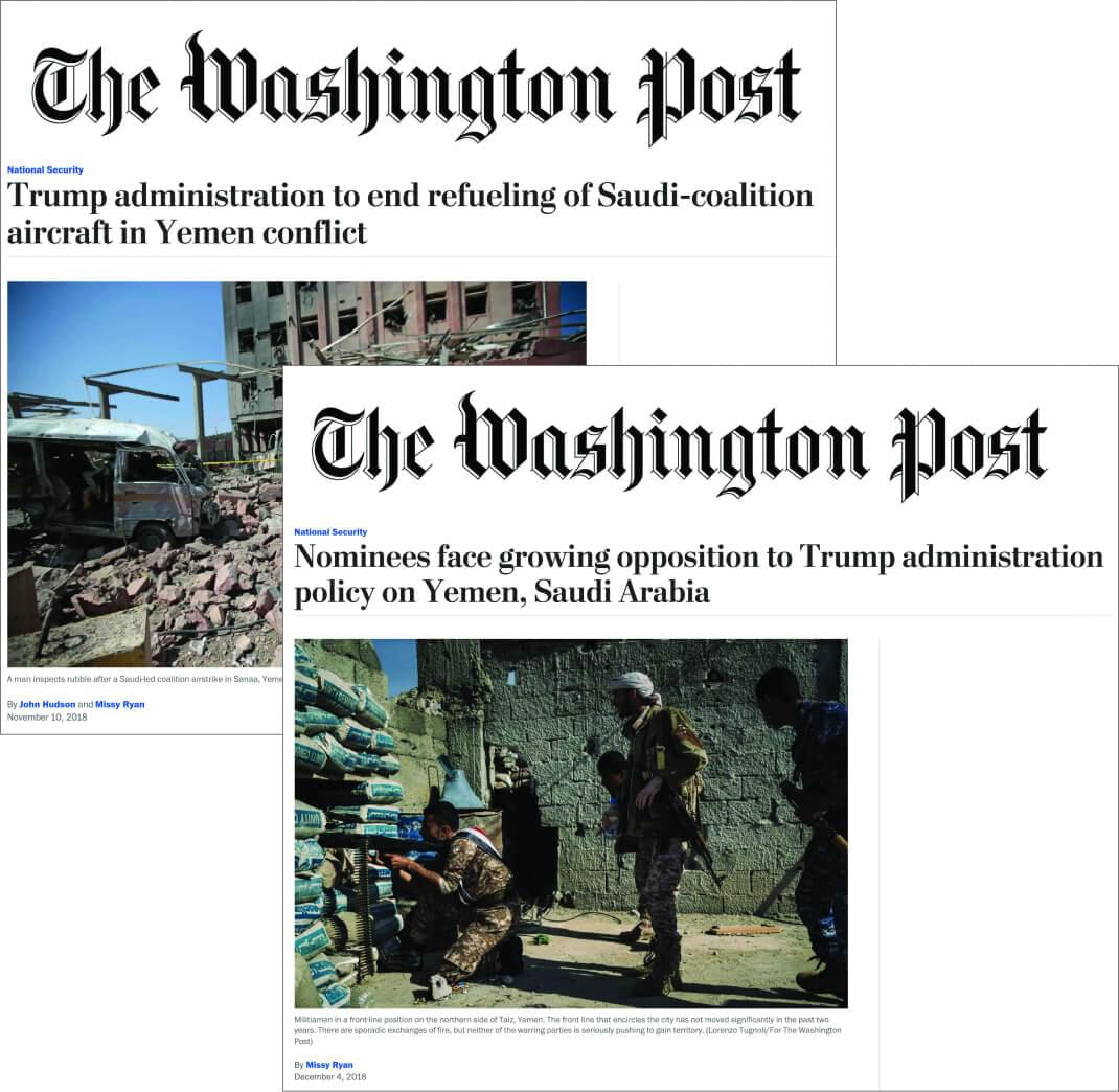 Yemen articles in The Washington Post