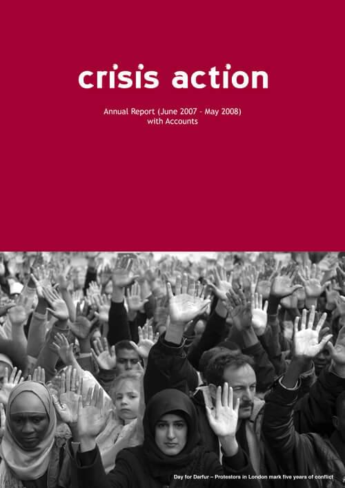 Crisis Action 2007-08 annual report