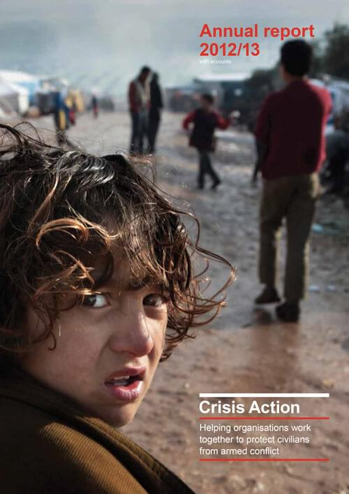 Crisis Action 2012-13 annual report