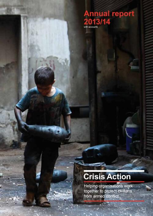 Crisis Action 2013-14 annual report