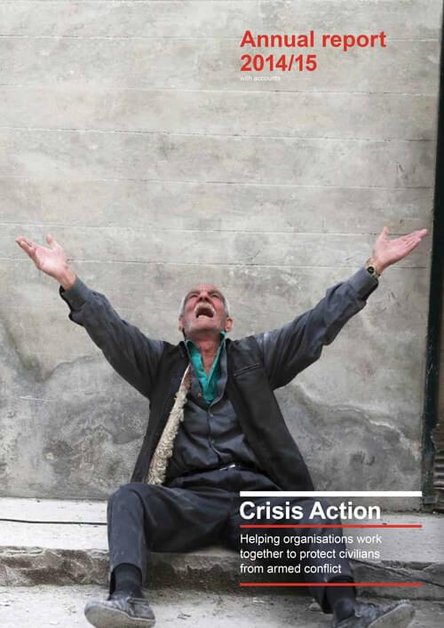 Crisis Action 2014-15 annual report