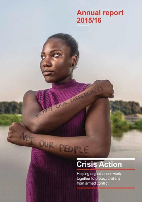 Crisis Action 2015-16 annual report
