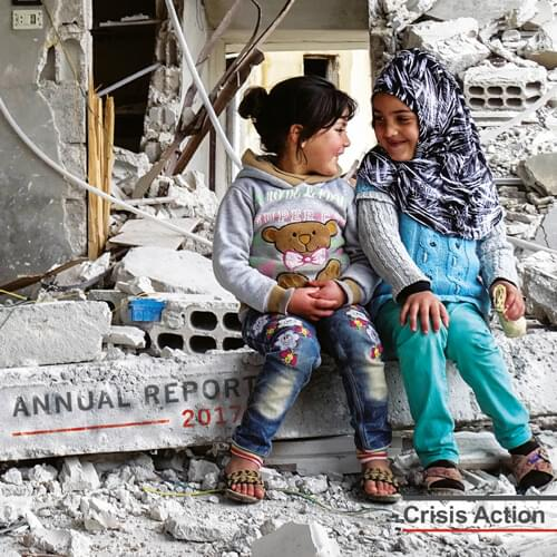 Crisis Action 2017 annual report