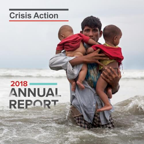 Crisis Action 2018 annual report
